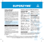 Superzyme label